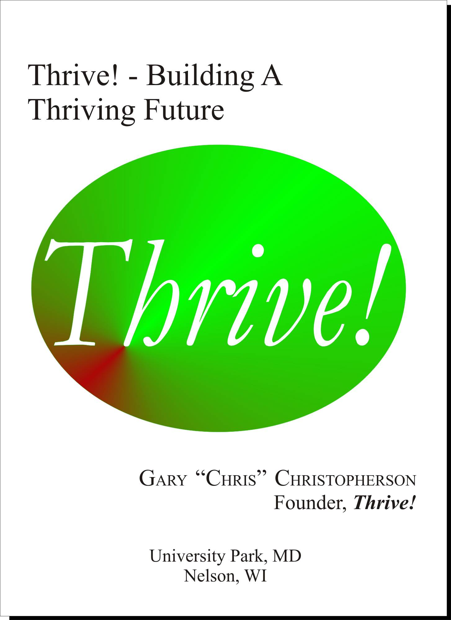 Thrive! Book Cover